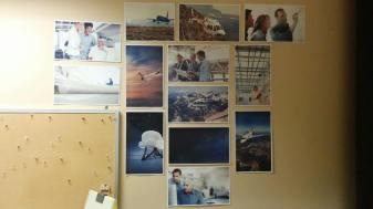 Un mur de prototypes | Crédit : Anne-Marie Beauregard